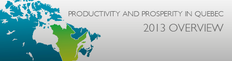 Productivity and Prosperity in Quebec 2013 Overview