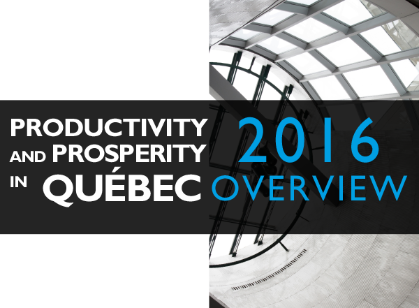 Productivity and prosperity in Quebec – 2016 Overview