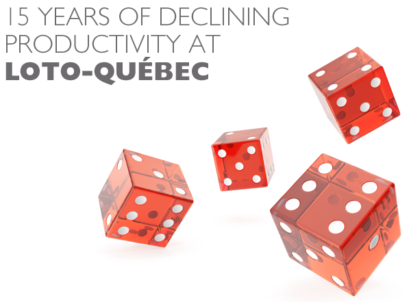 15 years of declining productivity at Loto-Québec