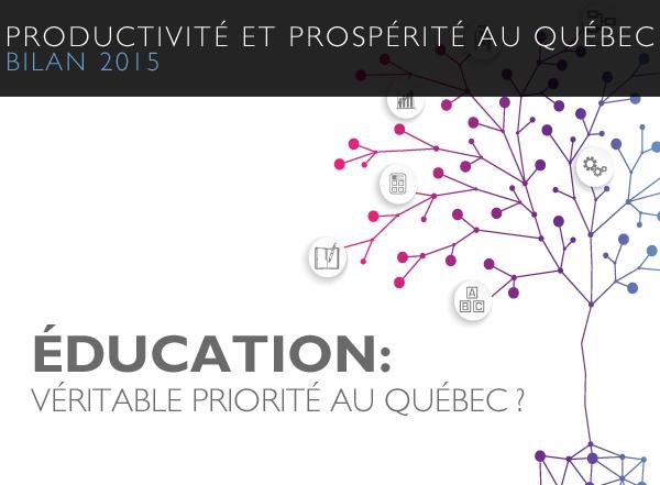 L'éducation, loin d'être une priorité au Québec