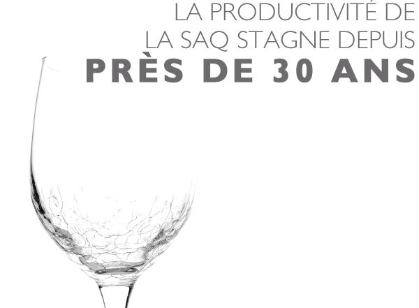 Productivité dans le secteur public : La SAQ