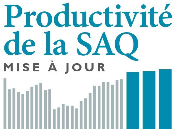Après quelque 30 ans de stagnation, la productivité de la SAQ s'accroît enfin !
