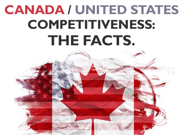 The Evolving Comparative Competitiveness of Canadian and American Industries