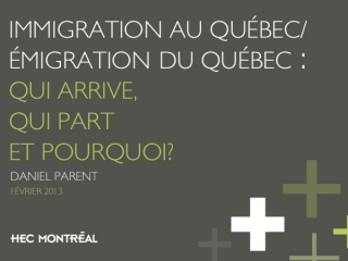 Immigration au Québec