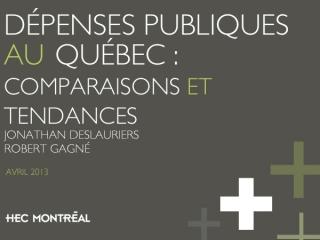 Dépenses publiques au Québec
