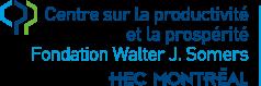 Centre sur la productivité et la prospérité Fondation Walter J. Somers