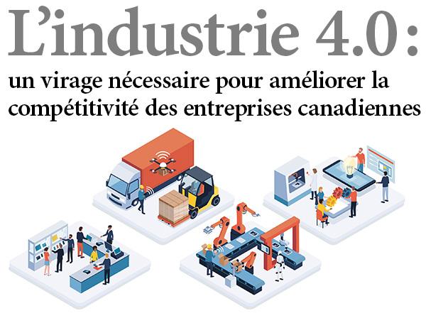 Industrie 4.0 : un passage obligé pour accroître la compétitivité des entreprises